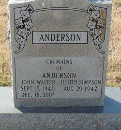 John Walter Anderson