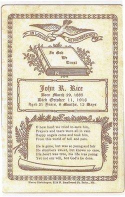 John Richard Rice