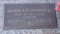 MSGT Arthur Ray Hensley