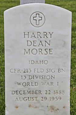 Harry D Morse