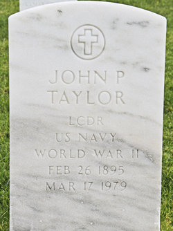 LCDR John Poucher Taylor