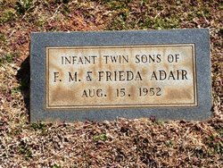 Infant Twin Sons Adair