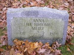 Anna <i>Dorneman</i> Meier