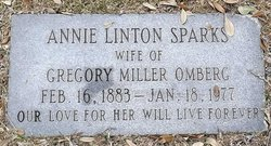 Annie Linton <i>Sparks</i> Omberg