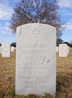 Adrian Harrison Mc Coy