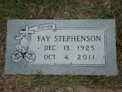 Fay Marguerite Stephenson