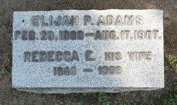 Elijah Porter Adams