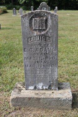 Louisa <i>Baker</i> Adams