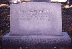 Maj Harry Edwin Roach, Jr.