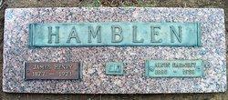 Alvin Earnest <i>Williams</i> Hamblen