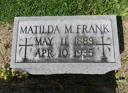 Matilda Mary Tillie Frank