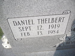 Daniel Thelbert Byrd