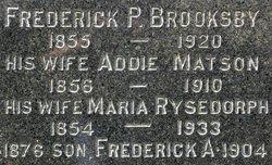 Addie <i>Matson</i> Brooksby