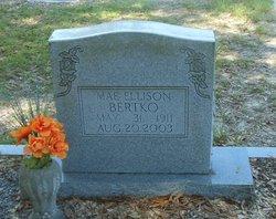 Mae <i>Ellison</i> Bertko