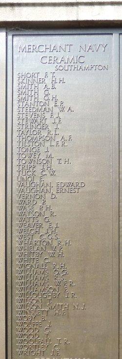 Boatswain's Mate Ernest Vaughan