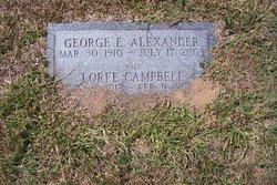 George Edward Alexander