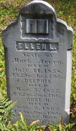 Ellen Lucinda <i>Russell</i> Avery