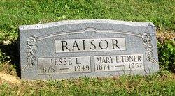 Mary E. <i>Toner</i> Raisor