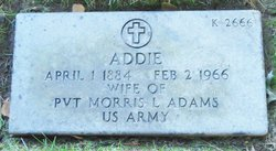 Addie Ellen <i>Tabler</i> Adams