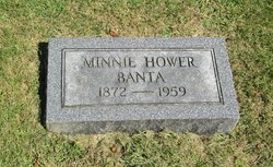 Minnie <i>Hower</i> Banta