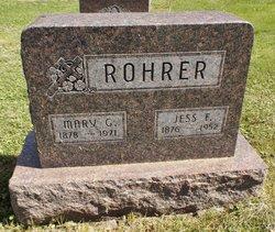 Mary G. <i>Snider</i> Rohrer