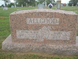 Mamie L <i>Priest</i> Allgood