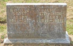 Alice <i>Stephenson</i> Adams