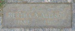 Bertha Ann <i>Hyser</i> Allison