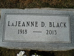 Mary LaJeanne <i>Douglass</i> Black