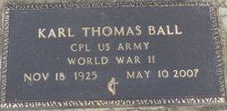 Corp Karl Thomas Ball