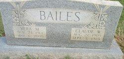 Vera M. <i>Kellogg</i> Bailes