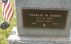 Charles Webster Snider