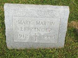Mary <i>Martin</i> Litzinger