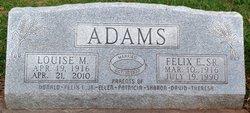 Louise Marie <i>Bruns</i> Adams
