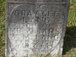 Gray Gee Lang