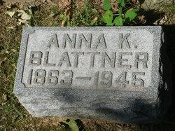Anna Marie <i>Keller</i> Blattner