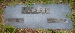 Mary Jane <i>Roberts</i> Sharp
