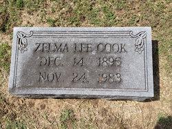 Zelma Lee <i>Cochran</i> Cook