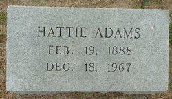 Hattie Vera <i>Claycomb</i> Adams