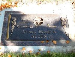 Donna <i>Bronson</i> Allen