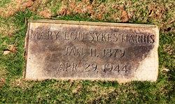 Mary Lou <i>Sykes</i> Harris