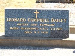 Leonard Campbell Bailey