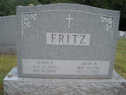 Joan B <i>Wosniak</i> Fritz