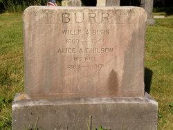 William Aaron Willie Burr