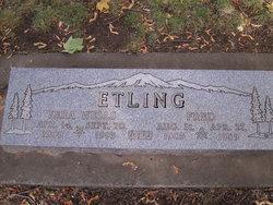 Vera G <i>Wells</i> Etling