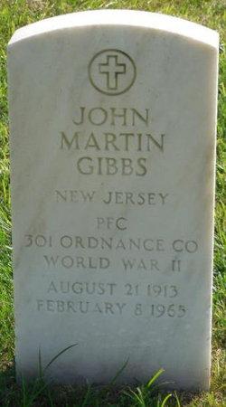 John Martin Gibbs