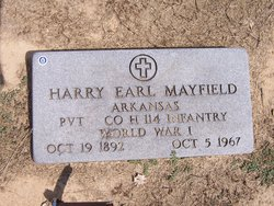 Harry Earl Mayfield