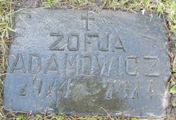 Zofia <i>Apanasewicz</i> Adamowicz