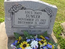 Lou L. <i>Cedars</i> Sumler