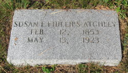 Susan E <i>Phillips</i> Atchley